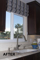 Sink Valance - BEFORE